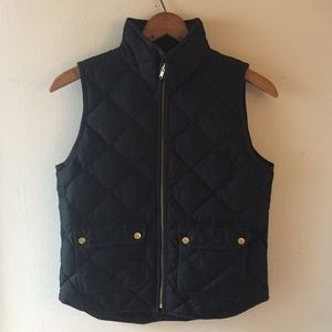 Excursion Quilted Down Vest - Black